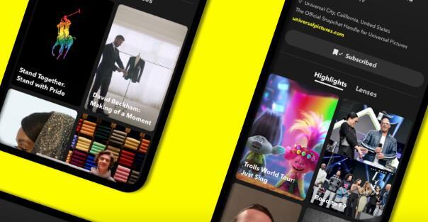 Snapchat推出了品牌简介以提高广告竞争力