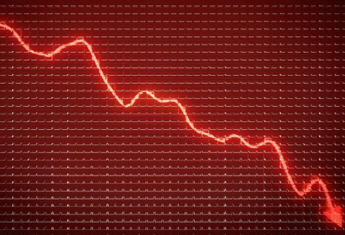 特斯拉的股价在今天暴跌