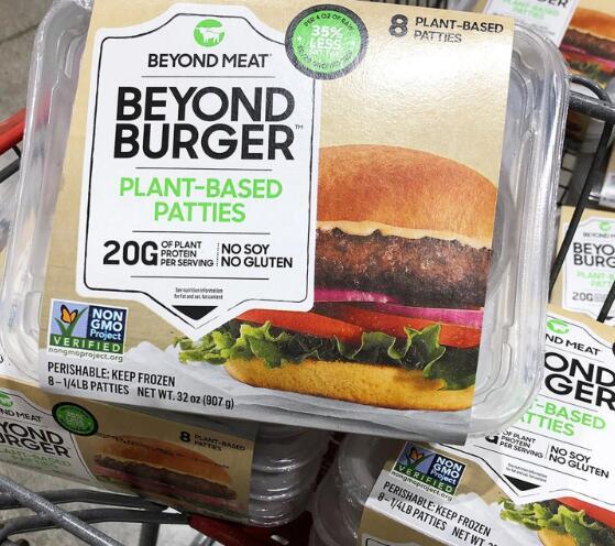 该公司的未来汉堡包装将很快出现在两家非常熟悉的零售商的货架上