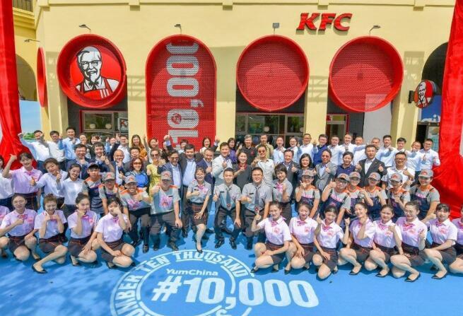 肯德基和必胜客表明中国餐饮业正从当前局势中迅速复苏
