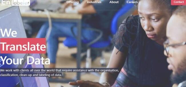 SA数据注释初创公司Enlabeler从E4E非洲国家筹集资金