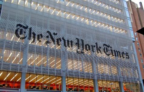 纽约时报认为下一季度广告销售几乎没有改善