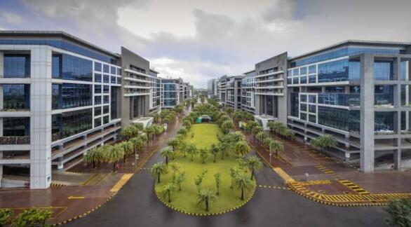 Mindspace商业园区房地产投资信托的首次交易量增长了10%以上