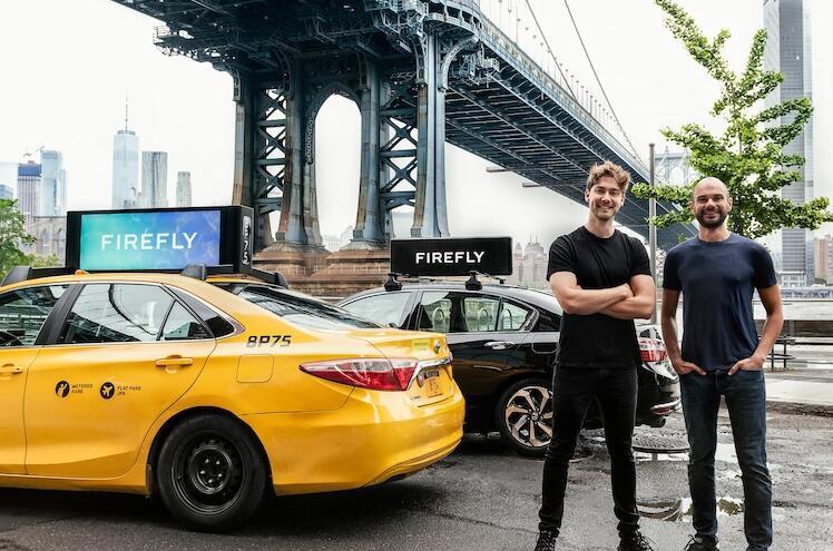 Rideshare和出租车广告初创公司Firefly收购了Strong Outdoor的户外广告业务
