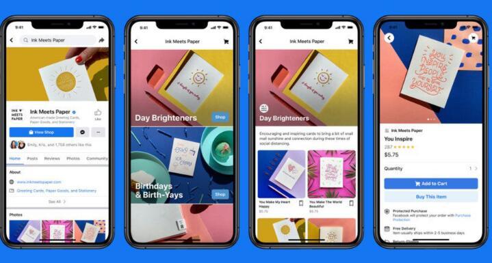脸书为小型零售商推出了新工具