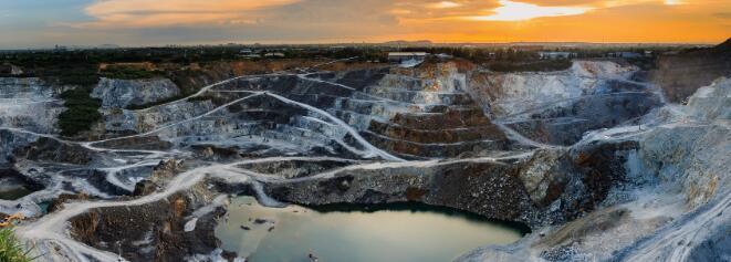 北朝今朝的矿物今天上涨了近20%
