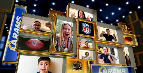 微软团队将把球迷带入NFL体育馆