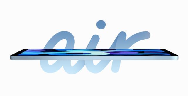 苹果多彩的新iPad Air看起来很像iPad Pro