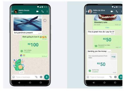 通过WhatsApp进行的移动支付首次在巴西亮相