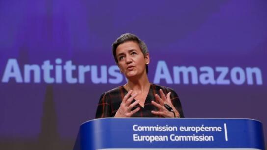 欧盟指控亚马逊扭曲在线零售竞争