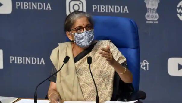 财政部长尼尔马拉·西塔拉曼说印度目睹经济复苏