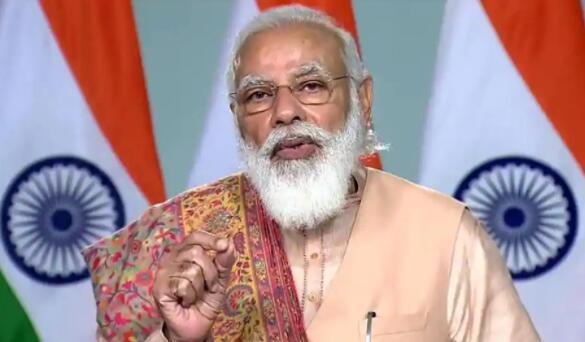 莫迪总理寻求资金以在当前局势后建设更智能的印度城市
