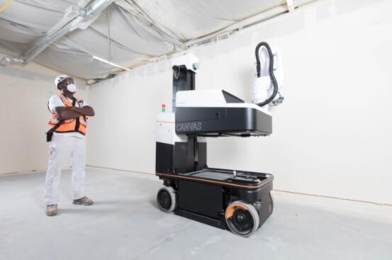 Canvas利用机器学习技术在建筑工地安装干墙