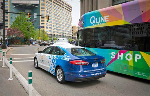 福特将在底特律测试新的自动驾驶汽车