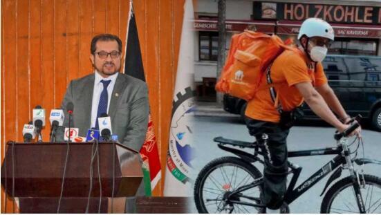 感到很安全!阿富汗前部长回应在德国送外卖